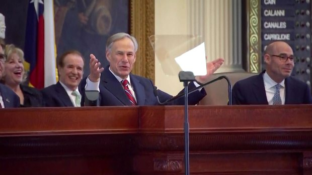 [DFW] Gov. Abbott Lays Out Priorities in State of the State