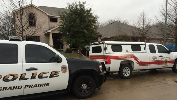 [DFW] Police Investigate Grand Prairie House Fire