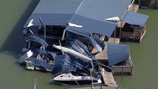 Texas Sky Ranger: Damage in Arlington, GP, Mansfield