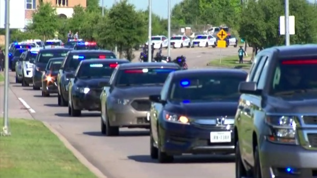 Grand Prairie Police Officer Killed in Crash Laid to Rest
