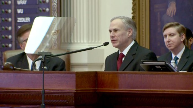 [DFW] Texas Gov. Abbott to Deliver State of the State Address Tuesday