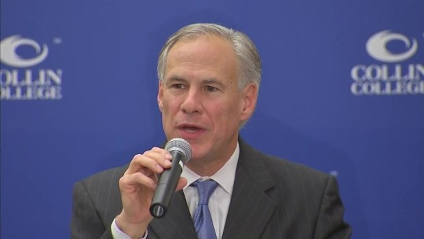 Greg Abbott Questioned About Blocking Syrian Refugees