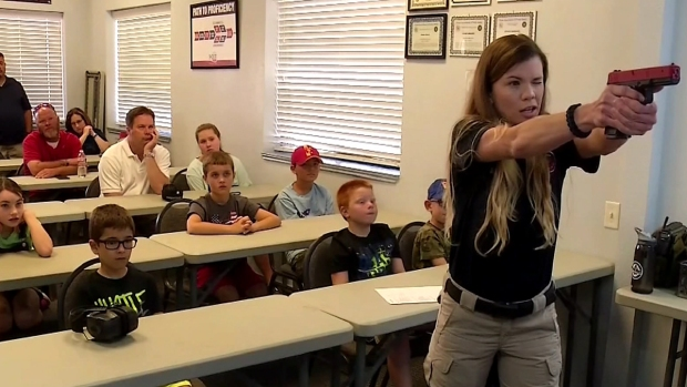 [DFW] Kids Learn Gun Safety at Fort Worth Camp