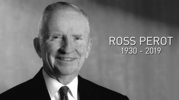 [DFW] Memorial Service Planned for H. Ross Perot Tuesday