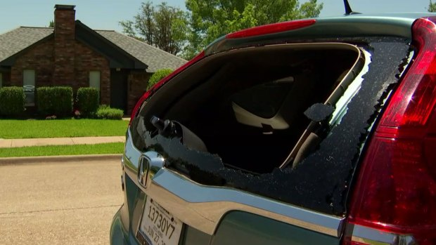Surprise Hail Storm Wednesday Damages Homes, Cars