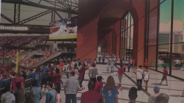 Rangers Unveil New Designs for Future Ballpark