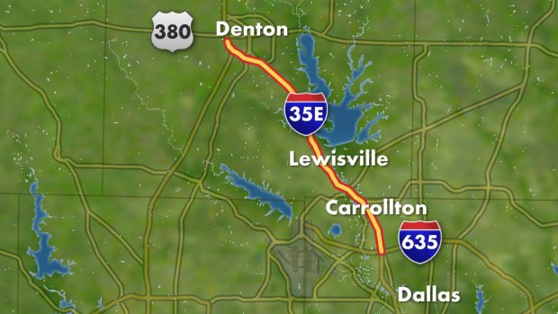 [DFW] $1.4B I-35E Expansion Breaks Ground Thursday