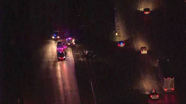 [DFW] Shooting Investigation Closes Interstate 45 in Dallas