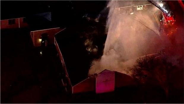 Fire Damages Irving Church Thursday Morning
