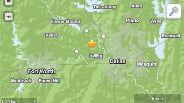 [DFW] Minor Quake Reported in Irving