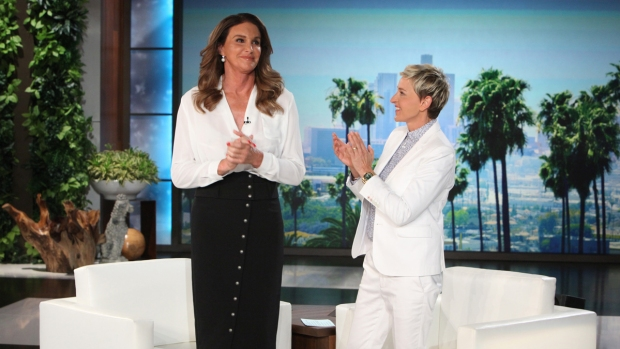 [NATL] 'Ellen': Caitlyn Jenner Talks Same-Sex Marriage
