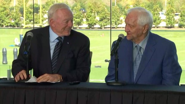[DFW] Dallas Cowboys Adding Former Team Executive Gil Brandt to Ring of Honor