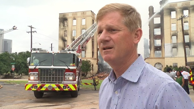 Ambassador Developer 'In Shock, Brokenhearted' After Fire