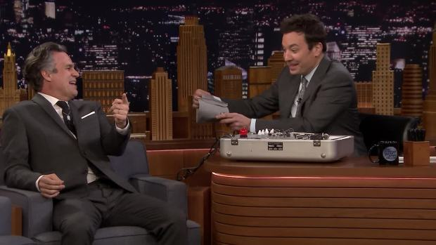 'Tonight': Mark Ruffalo With a Lie Detector on 'Avengers'
