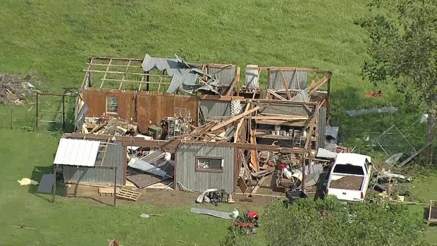 Chopper 5: Johnson County Storm Damage From April 26, 2015
