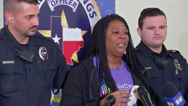 Woman Thanks Police, Fire for Rescue From Fire