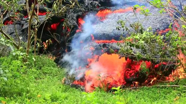 [DFW] Amazing Video of Kilauea Lava Flows (Raw Video)