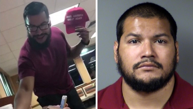 Man in MAGA Hat Incident Released From Jail