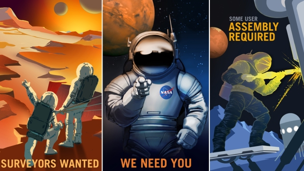 Mars Explorers Wanted: See NASA's Recruitment Posters