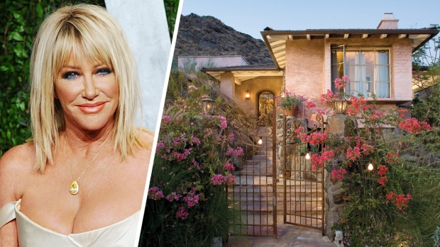 [NATL-LA] For Sale: Suzanne Somers' Desert Hamlet Comes With a Tiny Railway