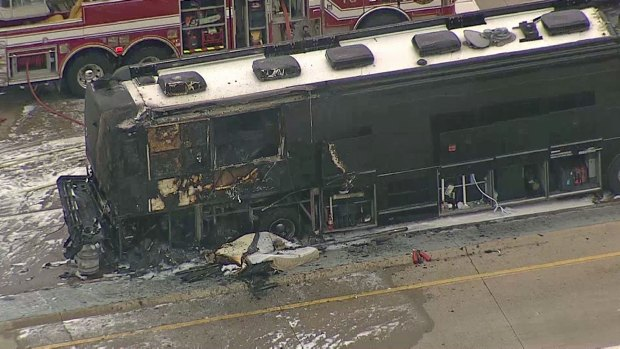 Bus That Caught Fire Owned By Tenn. Company