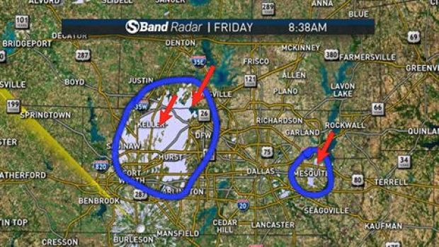 Big-S Radar Detects Lake-Effect Snow in NTX