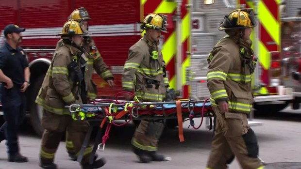 3 Workers Killed in Fire at Thanksgiving Tower