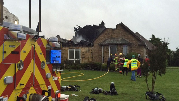 Three House Fires Apparently Sparked by Lightning