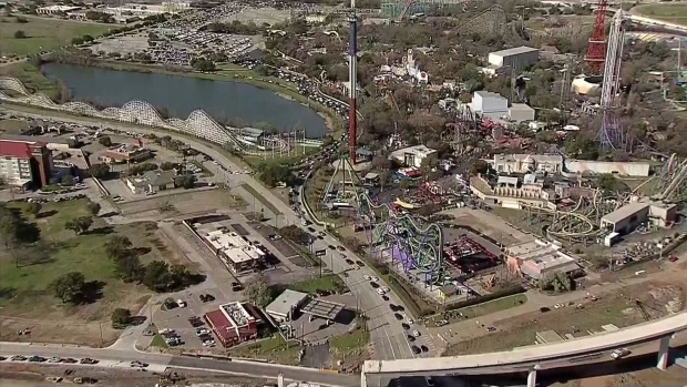 [DFW] Watch: Spring Break Gridlock at Six Flags in Arlington