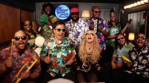 "[NATL] WATCH: ""Tonight Show"" Music Room With Madonna"