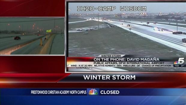 DFW Airport Spokesman Discusses Flights