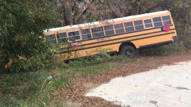 7 Hospitalized After McKinney School Bus Crash (Raw Video)