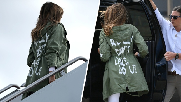 [NATL] Images: Melania Trump's Style