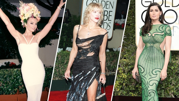 [NATL] The Most Memorable Golden Globes Looks