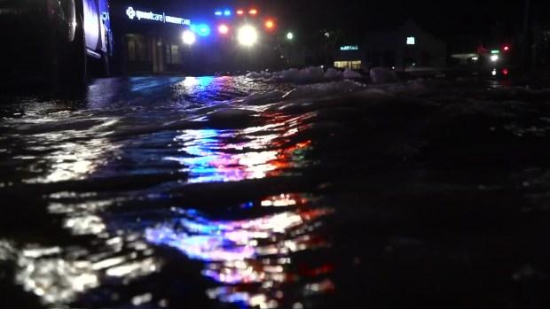 [DFW] Broken Water Main Floods Shops in University Park
