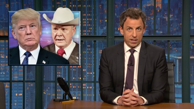 'Late Night': A Closer Look at Trump Campaigning for Moore