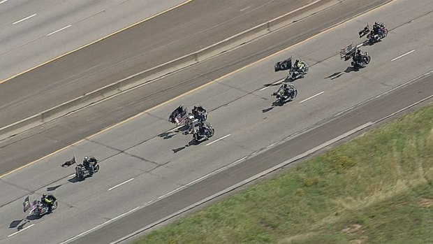 [DFW] Motorcycle Procession Shines Spotlight on Safety