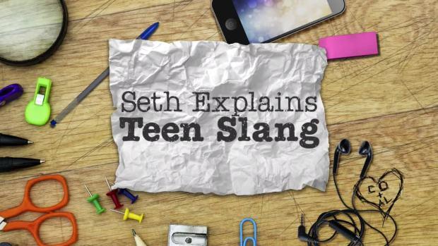 [NATL] 'Late Night': Seth Meyers Explains Teen Slang