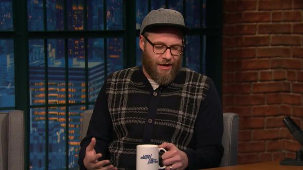 [NATL] 'Late Night': Seth Rogen Explains Cult Following Behind 'The Room'