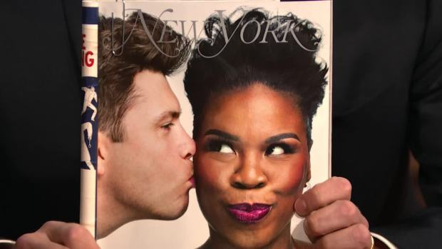 [NATL] 'Late Night': Leslie Jones Wants Oprah to Run for President
