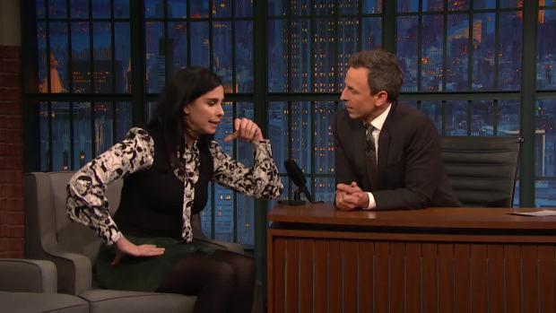[NATL] 'Late Night': Sarah Silverman Talks 'Ralph Breaks the Internet'