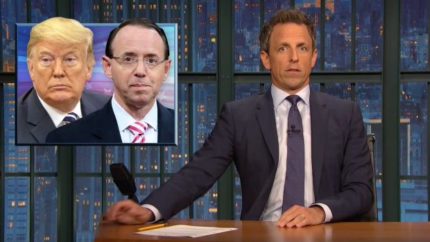 [NATL] 'Late Night': A Closer Look at Rosenstein Chaos, Kavanaugh Accuser