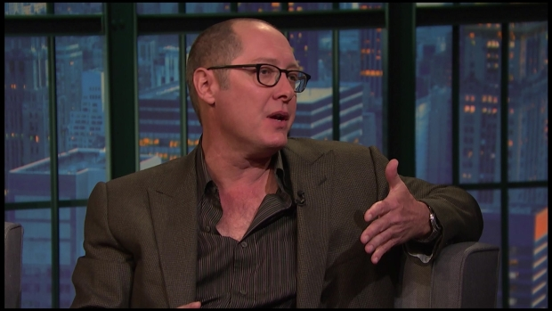 "[NATL] Meyers: James Spader Talks ""The Blacklist"""