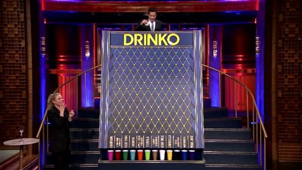 [NATL] 'Tonight Show': Drinko With Cameron Diaz