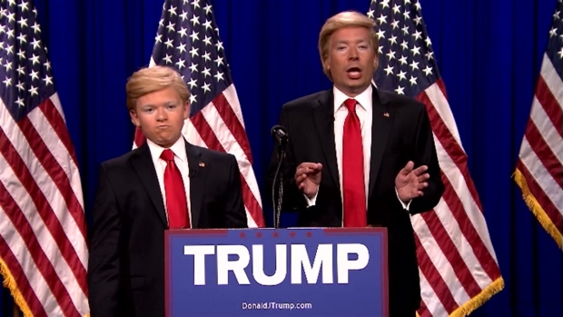 [NATL] 'Tonight Show': Donald Trump and 'Little Donald'