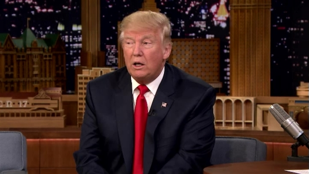 [NATL] 'Tonight Show': Donald Trump on Board Games, His Health and Fast Food Habit