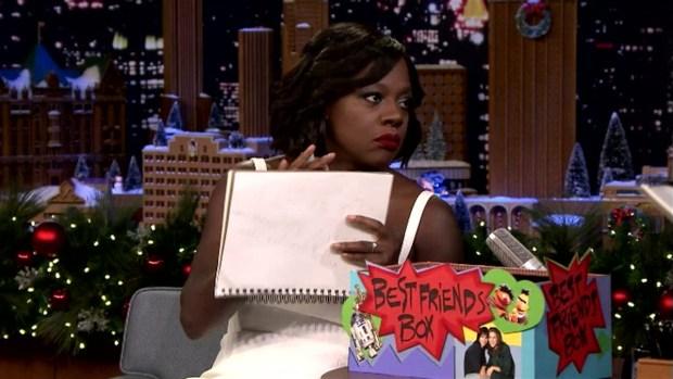 'Tonight Show': Best Friends Challenge with Viola Davis