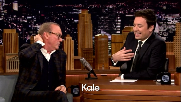 [NATL] 'Tonight Show': Rhyme-Versation With Michael Keaton