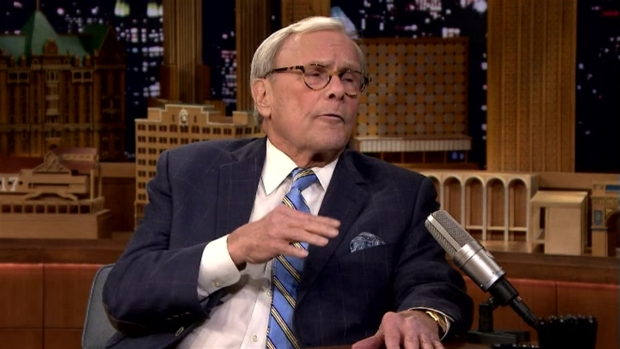 [NATL] 'Tonight Show': Brokaw Evaluates Trump's First Week and His Press War