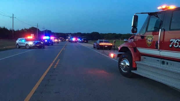 Chain-reaction crash kills 4 in Collin County